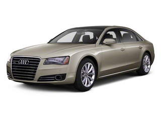 Savana Beige Pearl 2012 Audi A8 L Pictures A8 L Sedan 4D 4.2 Quattro L photos front view