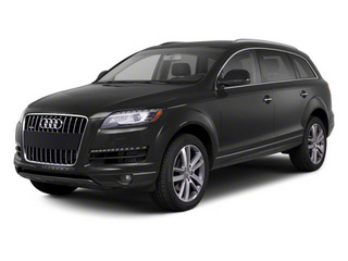 Lava Gray Pearl Effect 2012 Audi Q7 Pictures Q7 Utility 4D 3.0 TDI Prestige AWD photos front view