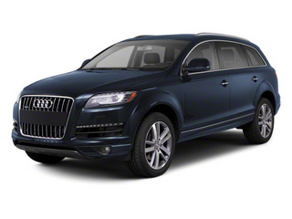 Mugello Blue Pearl 2012 Audi Q7 Pictures Q7 Utility 4D 3.0 TDI Prestige AWD photos front view