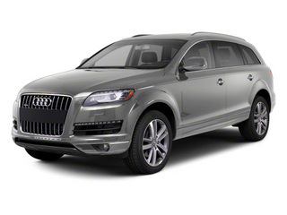 Daytona Gray Pearl Effect 2012 Audi Q7 Pictures Q7 Utility 4D 3.0 TDI Prestige AWD photos front view
