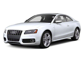 Glacier White Metallic 2012 Audi S5 Pictures S5 Coupe 2D Quattro photos front view