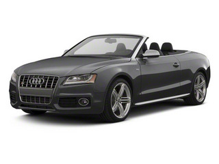 Monsoon Gray Metallic 2012 Audi S5 Pictures S5 Convertible 2D Quattro photos front view