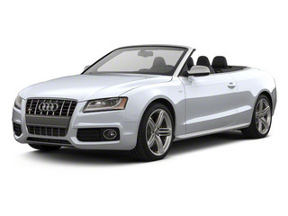 Glacier White Metallic 2012 Audi S5 Pictures S5 Convertible 2D Quattro photos front view