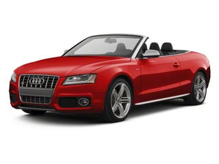 Brilliant Red 2012 Audi S5 Pictures S5 Convertible 2D Quattro photos front view