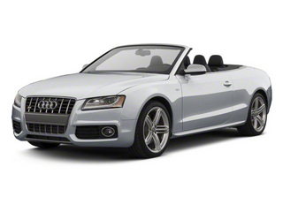 Ice Silver Metallic 2012 Audi S5 Pictures S5 Convertible 2D Quattro photos front view