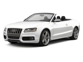 Ibis White 2012 Audi S5 Pictures S5 Convertible 2D Quattro photos front view