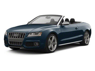 Moonlight Blue Metallic 2012 Audi S5 Pictures S5 Convertible 2D Quattro photos front view