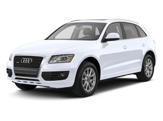 Glacier White Metallic 2012 Audi Q5 Pictures Q5 Utility 4D 2.0T Premium Plus AWD photos front view