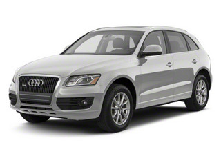 Daytona Gray Pearl Effect 2012 Audi Q5 Pictures Q5 Utility 4D 3.2 Prestige AWD photos front view