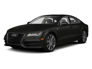 Oolong Gray Metallic 2012 Audi A7 Pictures A7 Sedan 4D 3.0T Quattro photos front view