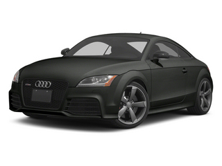 Panther Black Crystal 2012 Audi TT RS Pictures TT RS Coupe 2D Quattro photos front view