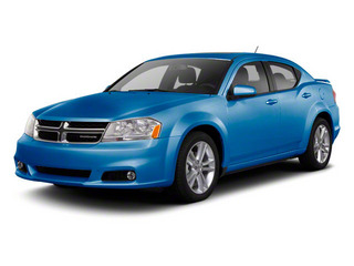 Blue Streak Pearl 2012 Dodge Avenger Pictures Avenger Sedan 4D SXT photos front view