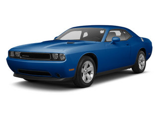 Blue Streak Pearl 2012 Dodge Challenger Pictures Challenger Coupe 2D R/T photos front view