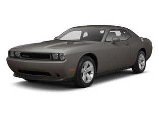 Tungsten Metallic 2012 Dodge Challenger Pictures Challenger Coupe 2D R/T photos front view