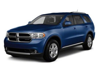 True Blue Pearl 2012 Dodge Durango Pictures Durango Utility 4D Crew AWD photos front view