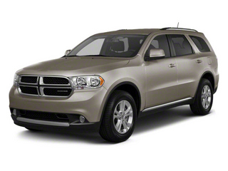 Mineral Gray Metallic 2012 Dodge Durango Pictures Durango Utility 4D Crew AWD photos front view