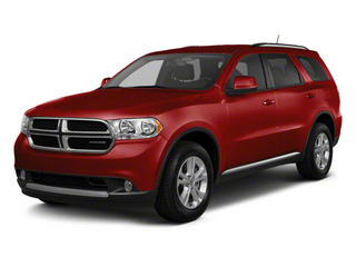 Inferno Red Crystal Pearl Coat 2012 Dodge Durango Pictures Durango Utility 4D Crew AWD photos front view