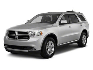 Bright Silver Metallic 2012 Dodge Durango Pictures Durango Utility 4D Crew AWD photos front view