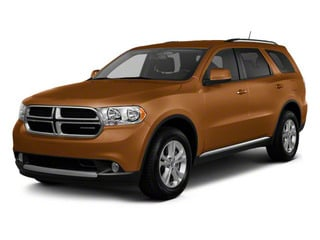 Canyon Brown Pearl 2012 Dodge Durango Pictures Durango Utility 4D Crew AWD photos front view