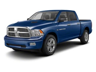 True Blue Pearl 2012 Ram Truck 1500 Pictures 1500 Crew Cab SLT 2WD photos front view