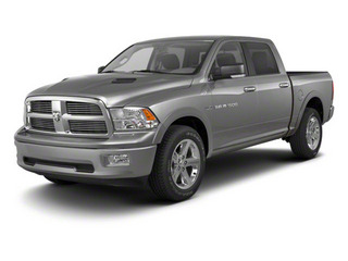 Mineral Gray Metallic 2012 Ram Truck 1500 Pictures 1500 Crew Cab SLT 2WD photos front view