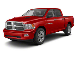 Flame Red 2012 Ram Truck 1500 Pictures 1500 Crew Cab Laramie 2WD photos front view