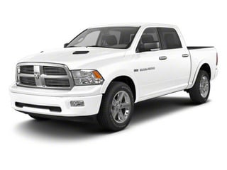 Bright White 2012 Ram Truck 1500 Pictures 1500 Crew Cab SLT 2WD photos front view