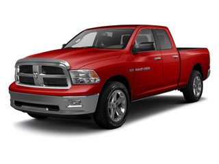 Flame Red 2012 Ram Truck 1500 Pictures 1500 Quad Cab Express 2WD photos front view
