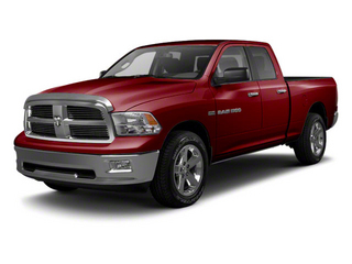 Deep Cherry Red Crystal Pearl 2012 Ram Truck 1500 Pictures 1500 Quad Cab Tradesman 4WD photos front view