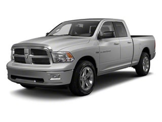 Bright Silver Metallic 2012 Ram Truck 1500 Pictures 1500 Quad Cab Outdoorsman 4WD photos front view