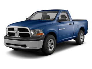 True Blue Pearl 2012 Ram Truck 1500 Pictures 1500 Regular Cab ST 4WD photos front view