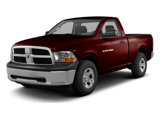 Deep Molten Red Pearl 2012 Ram Truck 1500 Pictures 1500 Regular Cab ST 4WD photos front view