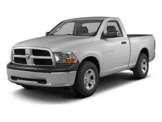 Bright Silver Metallic 2012 Ram Truck 1500 Pictures 1500 Regular Cab ST 4WD photos front view