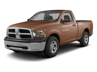 Saddle Brown Pearl 2012 Ram Truck 1500 Pictures 1500 Regular Cab ST 4WD photos front view