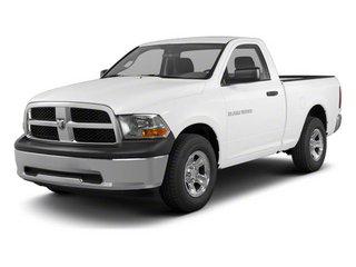 Bright White 2012 Ram Truck 1500 Pictures 1500 Regular Cab ST 4WD photos front view