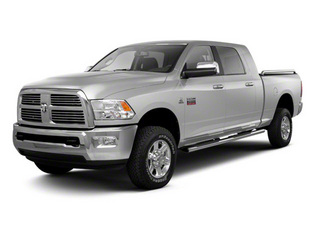 Bright Silver Metallic 2012 Ram Truck 2500 Pictures 2500 Mega Cab Outdoorsman 4WD photos front view