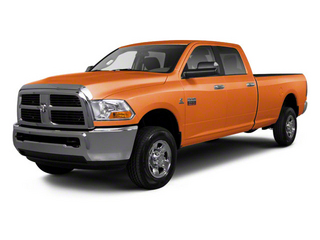 Omaha Orange 2012 Ram Truck 2500 Pictures 2500 Crew Cab ST 4WD photos front view