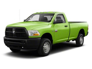 Hills Green 2012 Ram Truck 2500 Pictures 2500 Regular Cab SLT 4WD photos front view