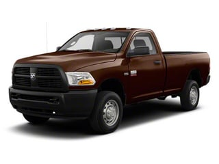 Dark Brown 2012 Ram Truck 2500 Pictures 2500 Regular Cab SLT 4WD photos front view