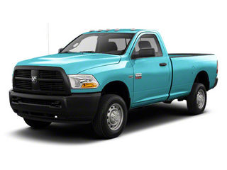 Robin Egg Blue 2012 Ram Truck 2500 Pictures 2500 Regular Cab SLT 4WD photos front view