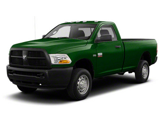 D T Green 2012 Ram Truck 2500 Pictures 2500 Regular Cab SLT 4WD photos front view