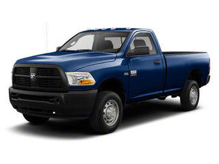 True Blue Pearl 2012 Ram Truck 2500 Pictures 2500 Regular Cab SLT 4WD photos front view