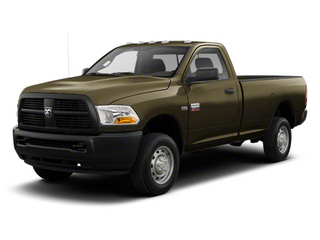 Sagebrush Pearl 2012 Ram Truck 2500 Pictures 2500 Regular Cab SLT 4WD photos front view