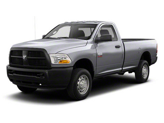 Bright Silver Metallic 2012 Ram Truck 2500 Pictures 2500 Regular Cab SLT 4WD photos front view