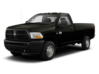 Black 2012 Ram Truck 2500 Pictures 2500 Regular Cab SLT 4WD photos front view