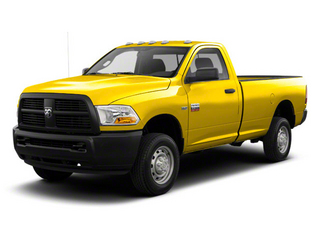 Detonator Yellow 2012 Ram Truck 2500 Pictures 2500 Regular Cab SLT 4WD photos front view