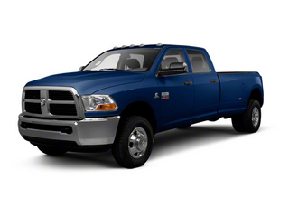 True Blue Pearl Coat 2012 Ram Truck 3500 Pictures 3500 Crew Cab Laramie 2WD photos front view