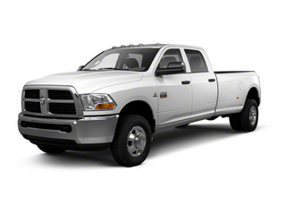 Bright Silver Metallic 2012 Ram Truck 3500 Pictures 3500 Crew Cab Laramie 2WD photos front view