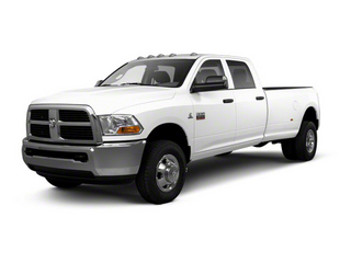 Bright White 2012 Ram Truck 3500 Pictures 3500 Crew Cab Laramie 2WD photos front view