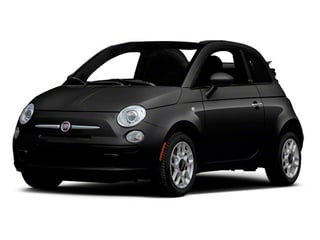 Nero (Black) 2012 FIAT 500 Pictures 500 Convertible 2D Lounge photos front view